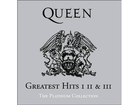CD Queen - The Platinum Collection — Pop-Rock