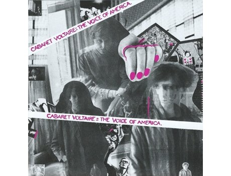CD Cabaret Voltaire - The Voice Of America