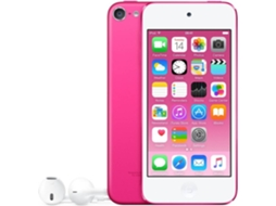 Leitor MP5 APPLE iPod Touch 128GB Rosa — 128GB