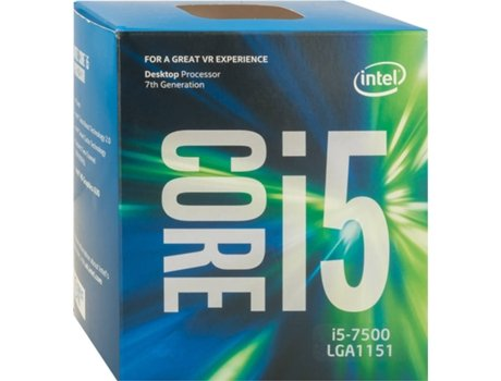 Processador Intel Core I5-7500 3.4GHZ 6MB Skt LGA 1151 Kabylake — Intel Core I5-7500 / 3.4 Ghz