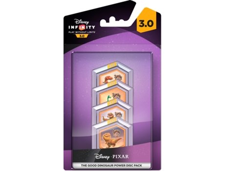Figura Disney Infinity 3.0 Power Discs Good Dinossaur — Coleção: The Good Dinossaur