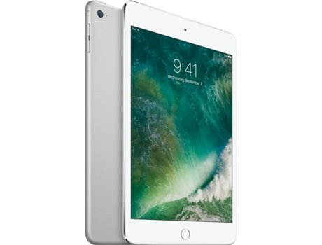 iPad Mini 4 7.9'' APPLE Wi-Fi 128GB Prateado — 7.9'' | 128 GB | iOS 9