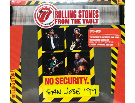 CD The Rolling Stones - No Security. San Jose '99