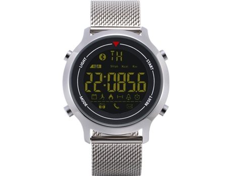 Smartwatch ZEBLAZE Vibe Cinza — Bluetooth 4.0 | 240 mAh | Android e iOS