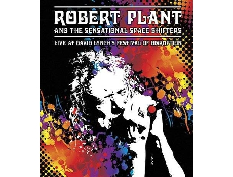 DVD Robert Plant & Sensational Space Shifters - Live At David Lynch's Festival Of Disruption — Pop-Rock