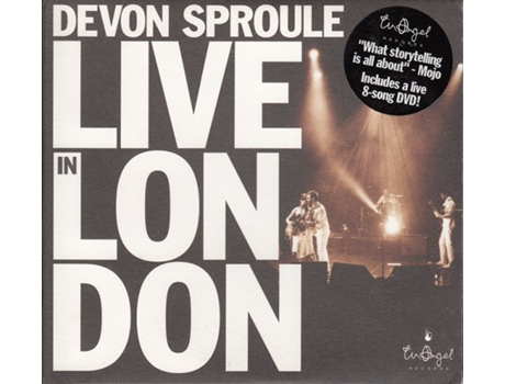 CD Devon Sproule - Live In London
