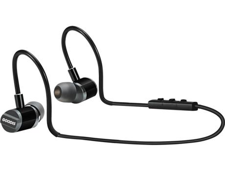 Auriculares Bluetooth GOODIS Extr Zephyr (In Ear - Microfone - Preto)   [6652942 ]