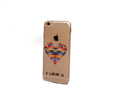 Capa KUNFT I Love Y iPhone 5, 5s, SE — Compatibilidade: iPhone 5, 5s, SE