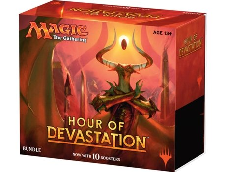 Bundle MAGIC THE GATHERING Hour of Devastation — Inclui 10 boosters