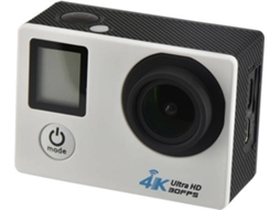 Action Cam  EVOMOTION  com comando — Vídeo: 4k 30fps / HD 16 MP / Autonomia: 90 min