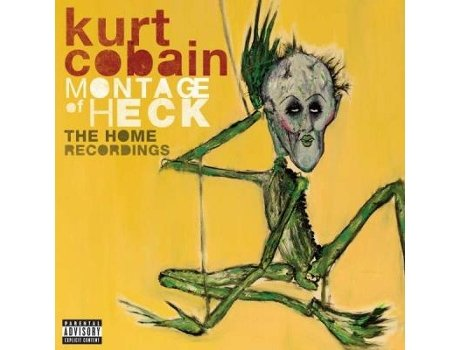 Vinil Kurt Cobain - Montage of Heck: The Home Recordings (Deluxe Edition) — Pop-Rock