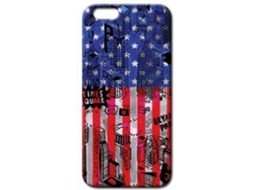 Capa BENJAMINS Pop City Flag iPhone 6, 6s Azul — Compatibilidade: iPhone 6, 6s