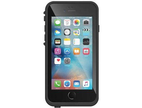 Capa Submersível  LIFEPROOF FRE iPhone 7 Plus Asphalt Black — Compatibilidade: iPhone 7 Plus