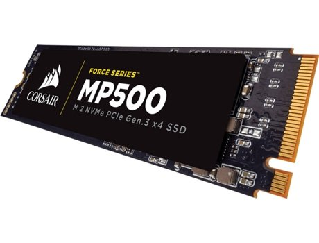 Disco SSD CORSAIR 120 GB MP500 PCIE M.2 — 120 GB | NVMe PCI Express SSD 3.0 x4