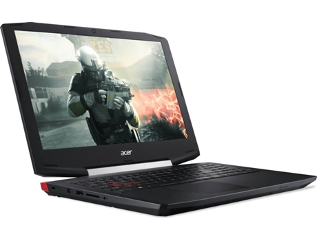 Portátil Gaming 15.6'' ACER Aspire VX5-591G-717K — i7-7700HQ / 512GB / 16GB