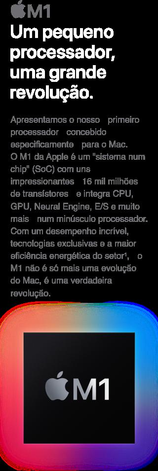 MacBook Pro 13'' Um grande processador, uma grande revolução