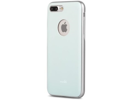 Capa MOSHI iGlaze iPhone 7 Plus, 8 Plus Azul — Compatibilidade: iPhone 7 Plus, 8 Plus