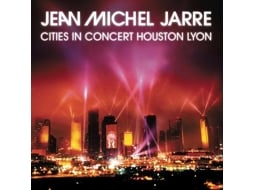 CD Jean Michel Jarre - Houston / Lyon 1986 — Pop-Rock