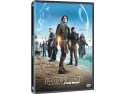 DVD Rogue One: Uma História de Star Wars — De: Gareth Edwards | Com: Felicity Jones,  Diego Luna,  Alan Tudyk