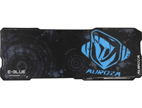 Tapete Rato Gaming XL E-BLUE Auroza FPS — Preto