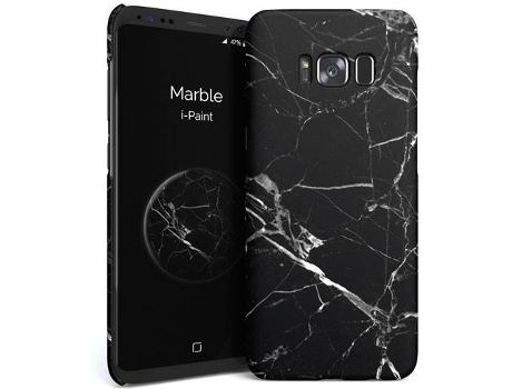 Capa I-PAINT Hard Samsung S8 Plus Marble — Compatibilidade: Galaxy S8 Plus
