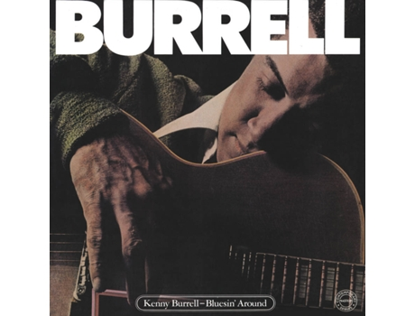 CD Kenny Burrell - Bluesin Around — Jazz