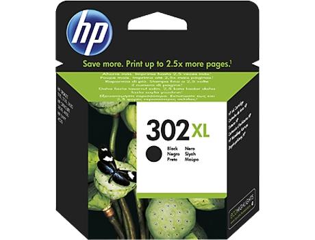Tinteiro HP 302XL Preto (F6U68AE) | [5580259 ]