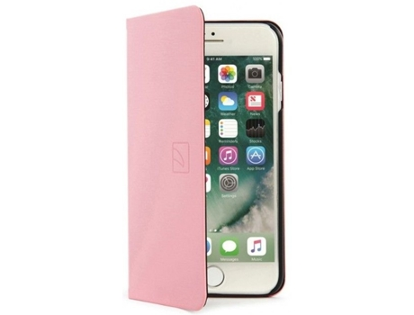 Capa TUCANO Filo iPhone 6, 6s, 7, 8 Rosa — Compatibilidade: iPhone 6, 6s, 7, 8