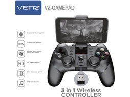 Comando VENZ VZ-GAMEPAD ANDROID/IOS/WIN/PS3 — Android