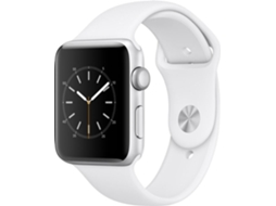Apple Watch APPLE Series 2 42 mm Prateado, Branco — Bluetooth 4.0 e Wi-fi | 273 mAh | iOS