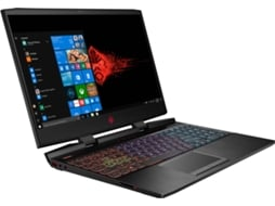 Portátil Gaming HP Omen 15-dc1049np (15.6'' - Intel Core i7-9750H - RAM: 16 GB - 512 GB SSD -  NVIDIA GeForce GTX 1650)