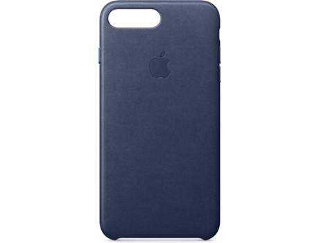 Capa APPLE Leather iPhone 7 Plus, 8 Plus Azul — Compatibilidade: iPhone 7 Plus, 8 Plus