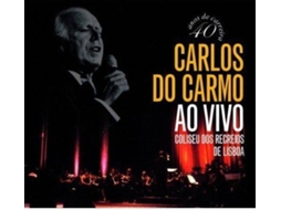 CD Carlos do Carmo - Ao Vivo no Coliseu dos Recreios — Fado