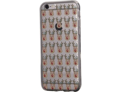 Capa KUNFT Little Rudolph iPhone 6, 6s — Compatibilidade: iPhone 6, 6s