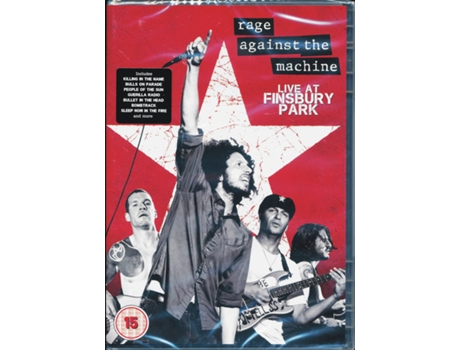 DVD Rage Against The Machine - Live At Finsbury Park