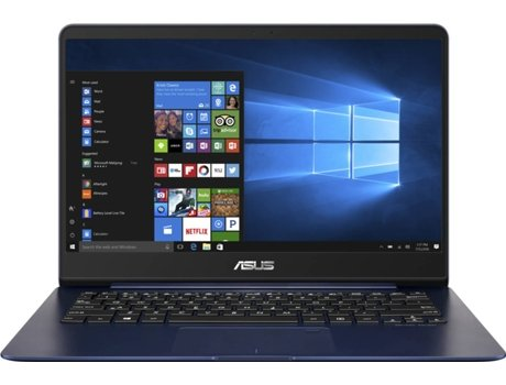 Portátil 14'' ASUS Ux430Un-78Dm5Ab1 — Intel Core i7-8550U | 16 GB | 512GB | NVIDIA GeForce MX150