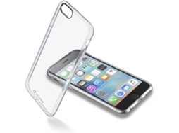 Capa CELLULAR LINE Invisible iPhone 6, 6s Transparente — Compatibilidade: iPhone 6, 6s
