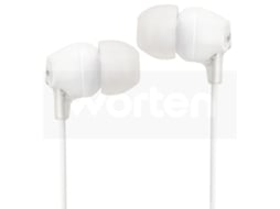 Auriculares Com fio SONY MDR-EX15LP (In Ear - Branco) — In Ear | Atende chamadas
