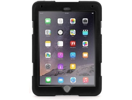 Capa GRIFFIN Survivor iPad Air 2 Preto — Compatibilidade: iPad Air 2