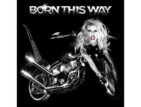CD Lady Gaga - Born This Way — Pop-Rock