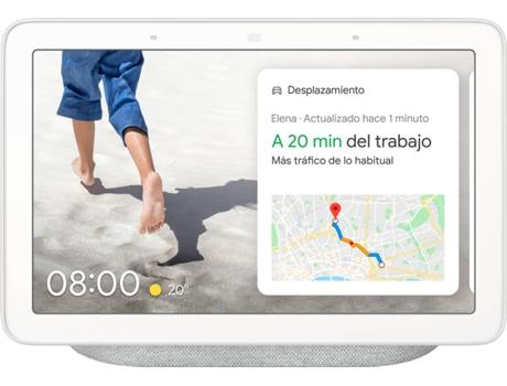 Assistente Google Nest Hub Smart Display 7 Branco
