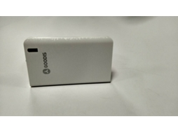 Powerbank GOODIS Spark Branco — 6000 mAh | 1 USB | MicroUSB