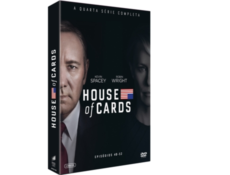 DVD House Of Cards - Temporada 4 — De: David Fincher | Com:  Kevin Spacey, Michel Gill, Robin Wright