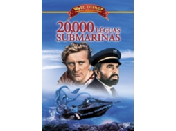 DVD 20000 Léguas Submarinas — De: Richard Fleischer | Com: Kirk Douglas, James Mason