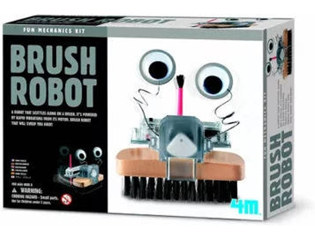 Robot 4M Brush — Infantil e adulto