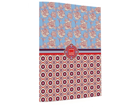 Caderno A5 MAKE NOTES Floral Quilt — A5 | 40 folhas