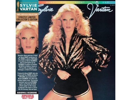 CD Sylvie Vartan - I Don't Want The Night To End