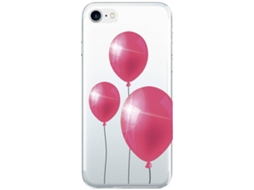 Capa SBS Ballons iPhone 6/6s/7  Transparente — Compatibilidade: iPhone 6/6s/7