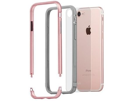 Capa MOSHI Iglaze Luxe iPhone 7 Rose Pink — iPhone 7