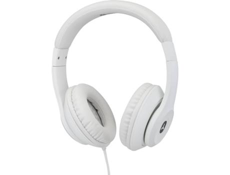 Auscultadores com Fio GOODIS GWH4093 (Over Ear - Microfone - Branco) | [6609861 ]